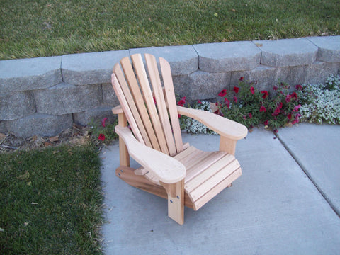 Wood Country Cedar T&L Children's Adirondack Chair