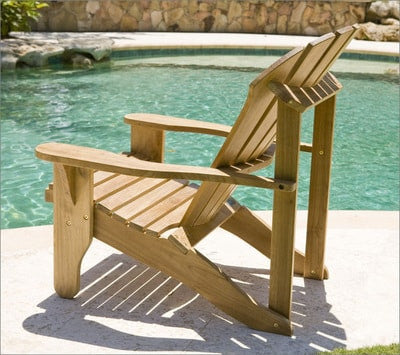 Douglas Nance Avondale Teak Adirondack Chair - [price] | The Adirondack Market