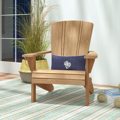 Douglas Nance Santa Fe Adirondack Teak Chair — Back in stock, order now, these go fast!
