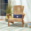 Image of Douglas Nance Santa Fe Adirondack Teak Chair — Back in stock, order now, these go fast!
