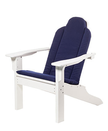 Seaside Casual Cushions Adirondack Classic Balcony, Bar, and Dining Chair - [price] | The Adirondack Market