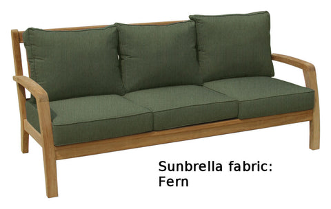 Douglas Nance Somerset Teak Deep Seating Sofa - [price] | The Adirondack Market