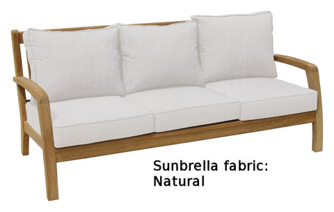 Douglas Nance Somerset Deep Seating Teak Sofa - [price] | The Adirondack Market