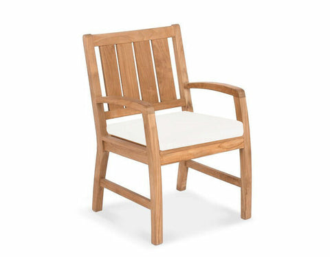 Douglas Nance Somerset Indonesian Teak Dining Armchair - [price] | The Adirondack Market