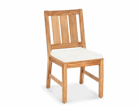 Douglas Nance Somerset Indonesian Teak Dining Side Chair — In stock, order now!