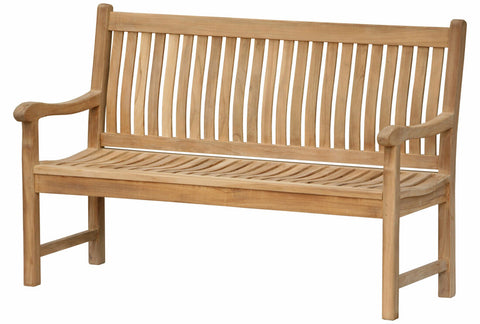 Douglas Nance Classic 5' Indonesian Teak Garden Bench - [price] | The Adirondack Market