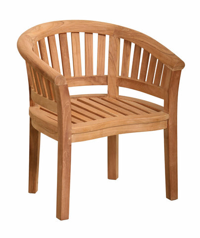 Douglas Nance Serenity Indonesian Teak Armchair - Set of Two - [price] | The Adirondack Market