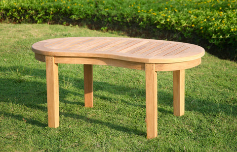 "Douglas Nance Serenity 43"" Indonesian Teak Coffee Table - [price] 