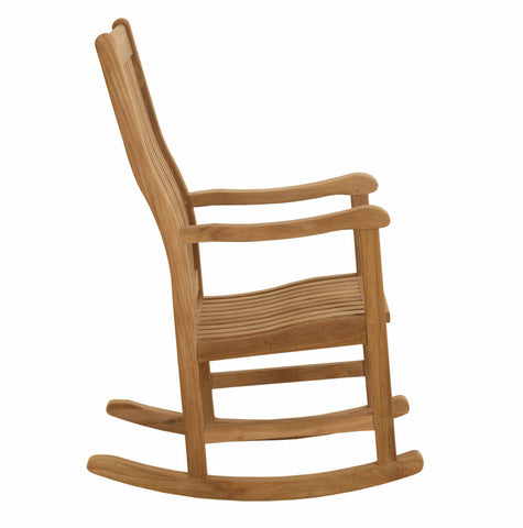 Douglas Nance Classic Indonesian Teak Rocker - [price] | The Adirondack Market