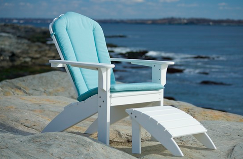 Cushions for Coastline Casual Harbor View Adirondack Chair and Rocker — Order now 10-12 week lead time