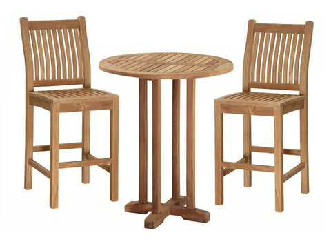 Douglas Nance Classic Indonesian Teak Bar Chair - [price] | The Adirondack Market