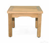 Image of Regal Teak Square Mission Side Table - [price] | The Adirondack Market