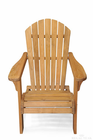 Regal Teak Adirondack Chair - [price] | The Adirondack Market