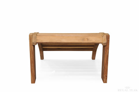Regal Teak Adirondack Ottoman - [price] | The Adirondack Market