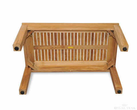Regal Teak Indonesian Teak Coffee Table - [price] | The Adirondack Market