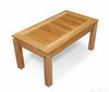 Image of Regal Teak Indonesian Teak Coffee Table - [price] | The Adirondack Market