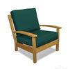 Image of Regal Teak Deep Seating Teak Club Chair – Single Chair - [price] | The Adirondack Market