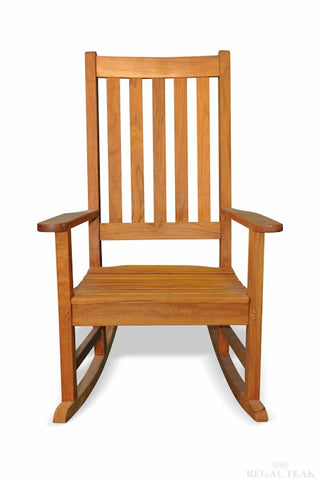 Regal Teak Carolina Teak Rocker — 4 to 6 week lead time