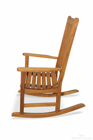 Regal Teak Carolina Teak Rocker - [price] | The Adirondack Market