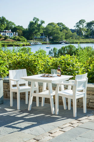 "Seaside Casual MADirondack 30""x30"" Dining Table - [price] 