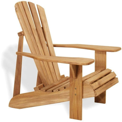 Douglas Nance Montauk Teak Adirondack Chair — In stock, order now!