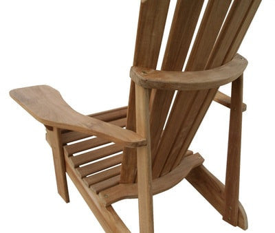 Douglas Nance Montauk Teak Adirondack Chair - [price] | The Adirondack Market