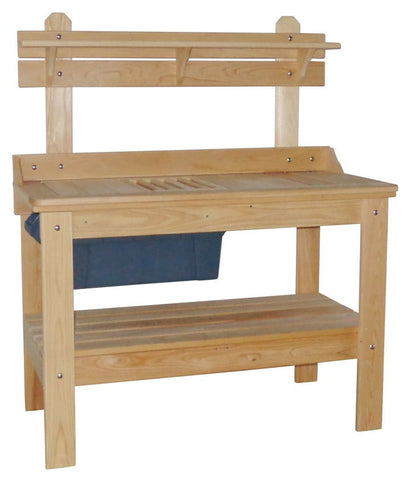 Hershy Way Cypress Outdoor Gardener Potting Table - [price] | The Adirondack Market