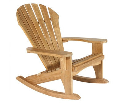 Douglas Nance Atlantic Indonesian Teak Adirondack Rocker — In stock, order now!