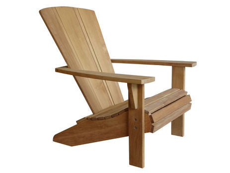 Douglas Nance Santa Fe Adirondack Teak Chair — Order now for delivery in early December!