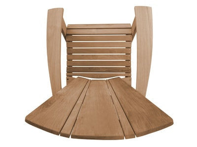 Douglas Nance Santa Fe Adirondack Teak Chair - [price] | The Adirondack Market