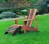 Image of Wood Country Cedar T&L Adirondack Foot Rest - [price] | The Adirondack Market