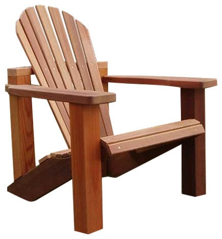 Wood Country Cedar Adirondack Chair — Order now for October shipment