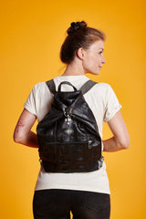 Backpack in recycled rubber inner tube