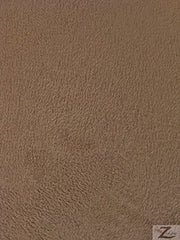 brown microsuede