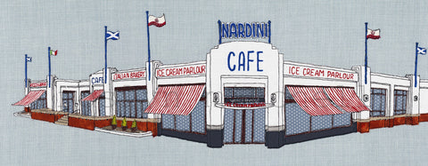 'Nardini's' Largs Giclee/Fine Art print, 3 sizes