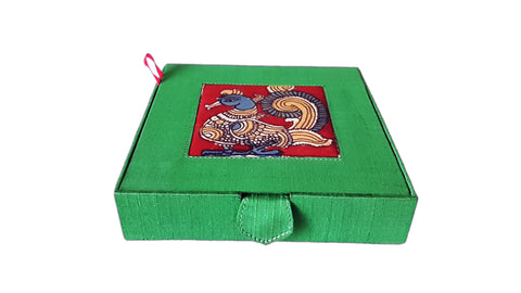 Kalamkari Jewellery Box-Annapakshi design