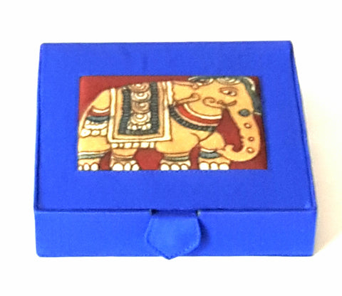 Kalamkari Jewellery Box