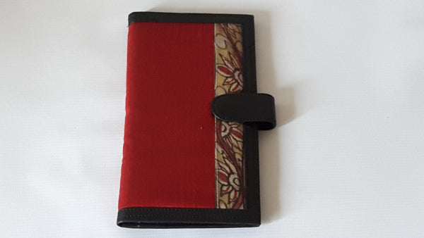 Kalamkari long purse/passport holder
