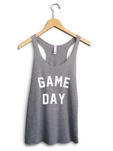 Game Day Women's Gray Tank Top