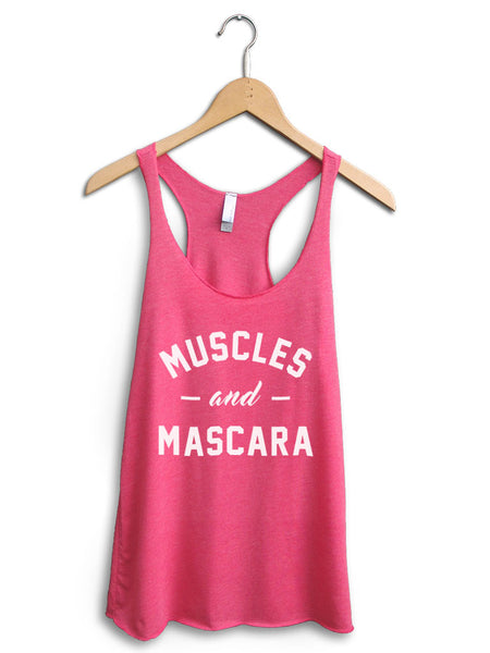 Muscles And Mascara Women's Pink Tank Top