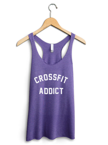Crossfit Addict Women's Purple Tank Top