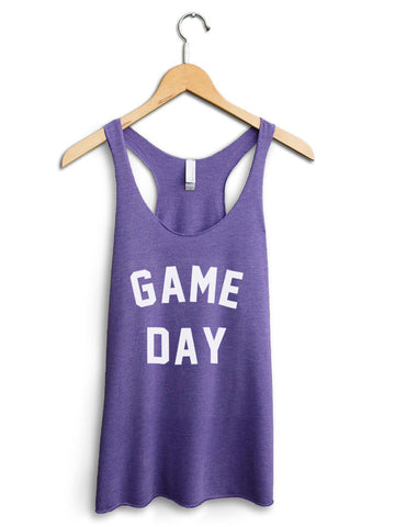Game Day Women's Purple Tank Top