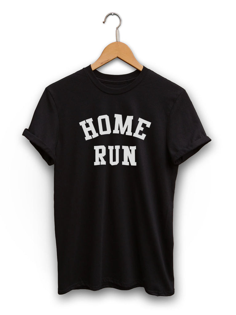 Home Run Unisex Black Shirt