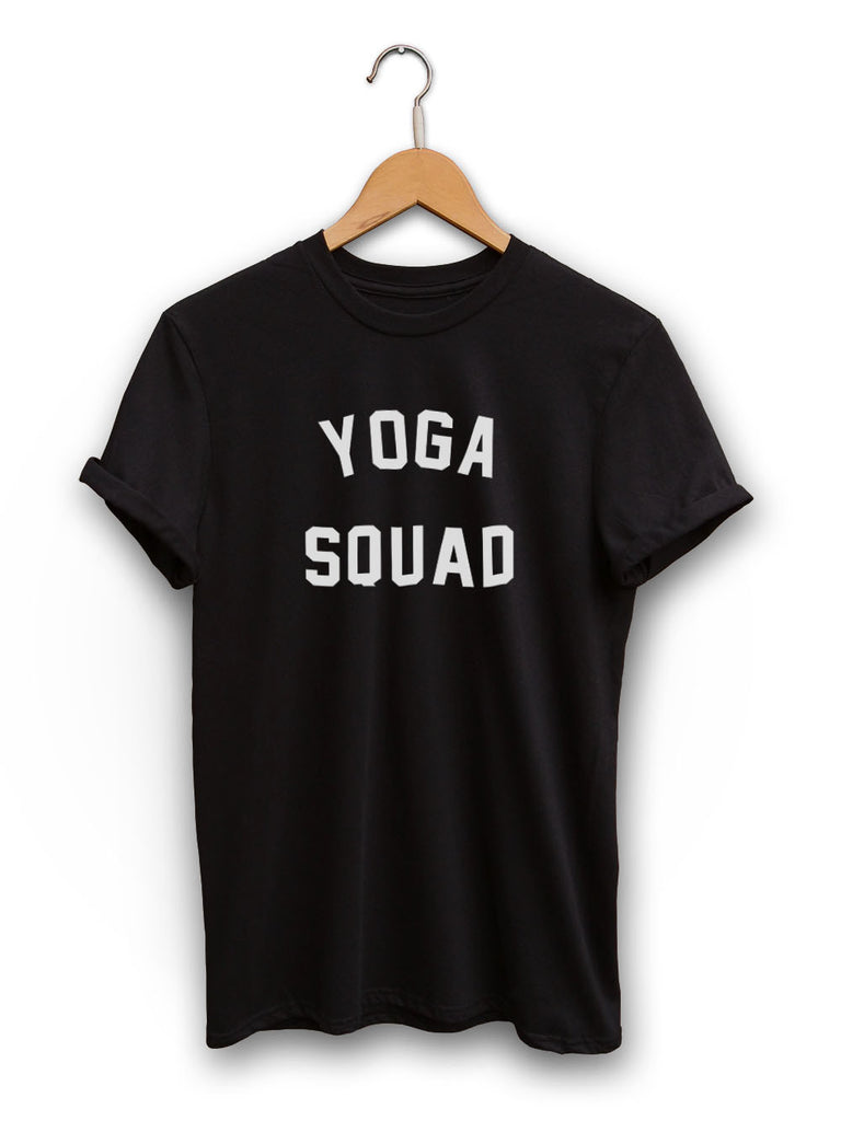 Yoga Squad Unisex Black Shirt