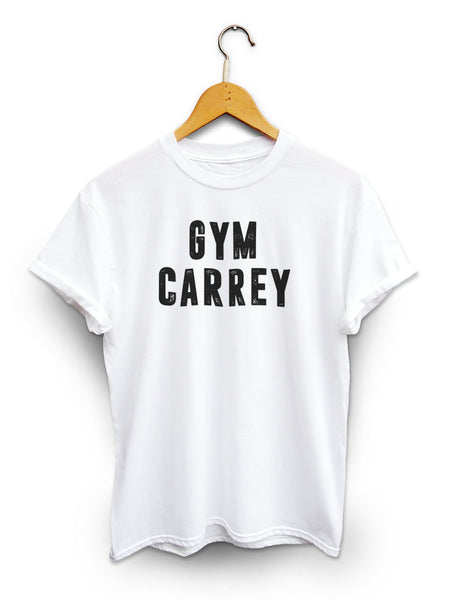 Gym Carrey Unisex White Shirt