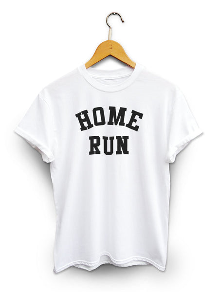 Home Run Unisex White Shirt