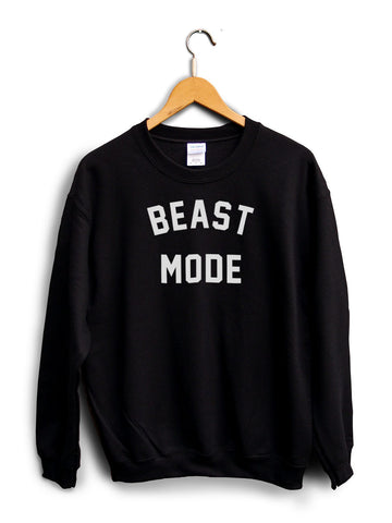 Beast Mode Black Unisex Sweater