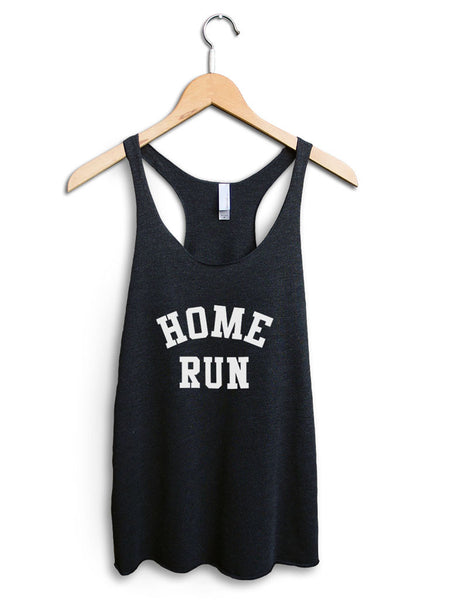 Home Run Women's Black Tank Top