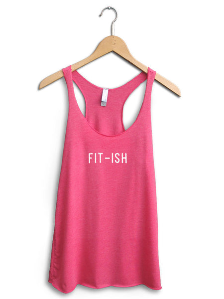 Fit Ish Women's Pink Tank Top