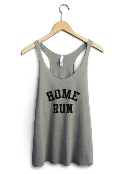 Home Run Women's Venetian Gray Tank Top